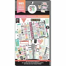Mambi - Happy Planner PRODUCTIVITY - Value Sticker Book - 985 stickers!!