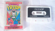F.A. FA CUP FOOTBALL MASTERTRONIC RICOCHET COMMODORE 64 128 CMB 64 C64 PAL