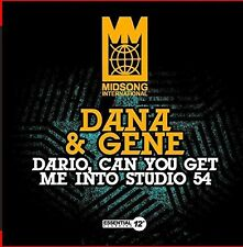 Dana & Gene - Dario Can You Get Me Into Studio 54 [New CD] Manufactured On Deman