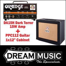 Orange Black PPC112 +  Dark Terror Valve Guitar Amplifier Head and Cab RRP$1648
