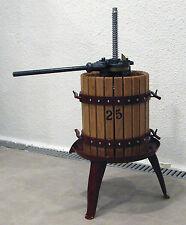 5874 - PRENSA MANUAL ELABORACION DE VINO CUERPO DE MADERA 25X35 cm. 20 Kg. PR-25