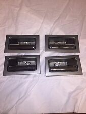 2010 2011 2012 2013 2014 FORD F150 INSIDE DOOR HANDLE SILVER GRAY & CHROME SET 4