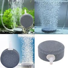 4cm Air Bubble Disk Stone Aerator Aquarium Fish Tank Pump Hydroponic Oxygen New