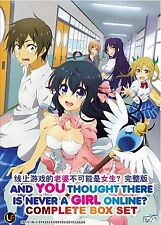 Anime DVD: And You Thought There Is Never A Girl Online? (1-12 End)_Eng Sub_R0_