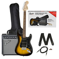 Fender Squier Affinity Series Stratocaster HSS Pack - Brown Suburst