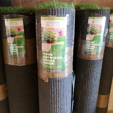 More details for cheap artificial grass offcut roll end clearance deal 30mm thick fake lawn turf