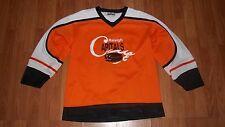 KOBE Boisvert 4 RALEIGH CAPITALS Ice Hockey Team Jersey Made in Canada Adult S/P