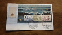 AUSTRALIA 99 STAMP EXPO FDC, EARLY NAVIGATOR AUST 99 SHEET, POLLY WOODSIDE PM 1