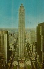 Vintage Postcard Of Rockefeller Center In New York City Long Ago, Lot 500*