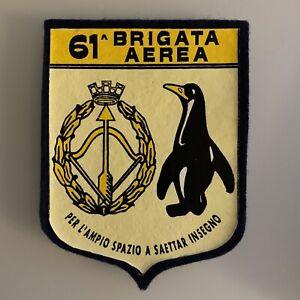 Patch Aeronautica Militare Italiana gommata