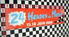 1968 Le Mans Sticker - Classic Car Circuit Sticker Retro Period Vintage Decal