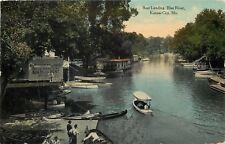 Kansas City MO~Bollinger Boat Landing~Houseboat~Blue River Rentals~1911