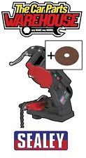 SEALEY 240v Bench Chainsaw Blade Sharpener Grinder Chain Saw inc free Disc
