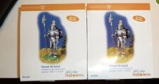 Two (2) Department 56 Halloween Series Forever On Guard Mint In Original Boxes