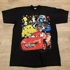 Cars Looney Tunes Simpsons Medley Graphic T Shirt Embellished Club 21 Mens 2XT