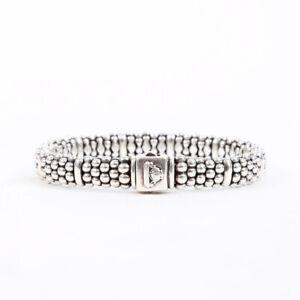 Lagos Caviar Sterling Silver Bracelet