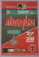 STRANGLERS GREEK POSTER LIVE CONCERT in RODON ATHENS GREECE 1993
