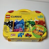 LEGO Classic Creative Travel Bring Along Suitcase 10713 Building Kit 213 Pieces
