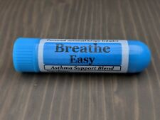 BREATHE EASY Essential Oil Personal AROMATHERAPY Inhaler: Asthma Support Blend