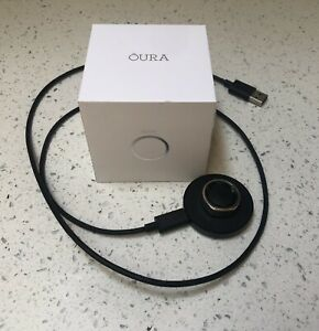 Oura Ring- Size 10, Silver, Used With Charger