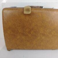 Vintage American Tourister Escort Brown Hardside Luggage Suitcase Pullman Large