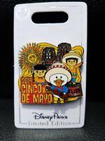 Disney EPCOT Park Cinco De Mayo (May 5th) 2019 Pin Mexico pavilion Donald Duck