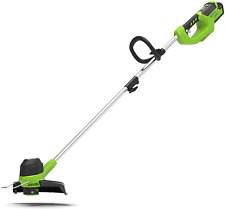 Cordless Grass Trimmer Garden Lawn Weed String Cutter Edger Tool (No Battery)