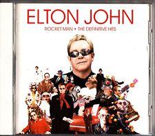 ELTON JOHN- Rocket Man .The Definitive Hits Best of JAPAN CD 2007 UICR-1070 Rare