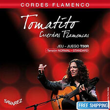 Savarez T50R Guitar Strings Tomatito Cordes Flamenco Tension Normal-Standard Set