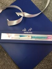 Stunning Swarovski Elsa Frozen Pen Aqua Crystal BNIB With Gift Bag