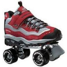 size 8.5 mens SKECHERS 4 WHEELER ROLLER SKATES skate quad derby boys adult NIB