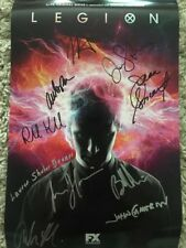 SDCC 2017 LEGION SIGNED/AUTOGRAPHED POSTER
