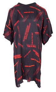 DIESEL Women's Dress Size S Oversize T-Shirt Dress Linen Blend