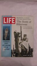 Life Magazine October 6th 1967 Last Crossing Of The Queen Mary Published By Time