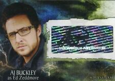 Supernatural Season 3 AJ Buckley as Ed Zeddmore Autograph Card A-26