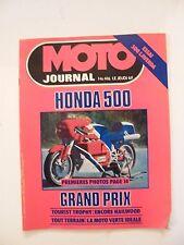 Motorcycle Journal June 1979 No.416 Honda 500 500 Laverda