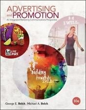 Advertising and Promotion : An Integrated Marketing by George Belch US 10TH ED