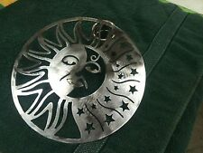 Moon sun Metal Wall Decor