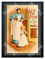Historic Ivy soap 1890 Advertising Postcard