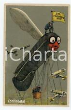 1918 CONTINENTAL - Luftschiff  - Zum Hindenburg Blick - Vintage postcard
