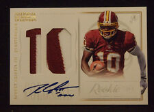 Robert Griffin III 2012 National Treasures ROOKIE AUTO COLOSSAL PRIME PATCH /25