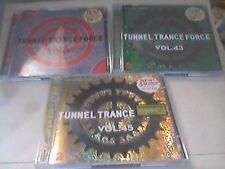 Tunnel Trance Force  Vol.1,2,3,4,5,6,7,8-43,45   sehr guter Zustand  Sammlung