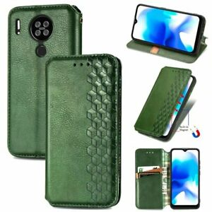 For BlackView A80 Plus / A80S / A90 / A70 Luxury Magnetic Wallet Leather Case