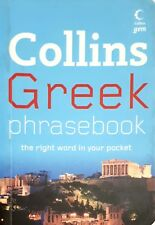 NEW Collins Greek Phrasebook the Right Word in Your Pocket travel tips paperback