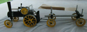 VINTAGE WORKING LIVE STEAM MAMOD TRACTION ENGINE TE1A TRACTOR/TRAILER NEVER USED