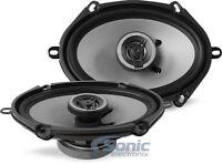 "CRUNCH 250W 5 x 7""/6 x 8"" 2-Way Coaxial Car Stereo Speakers | CS5768CX"