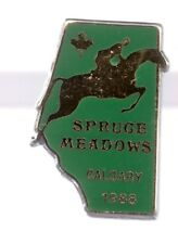 1988 Spruce Meadows Pin Calgary Equestrian Jumping Canada