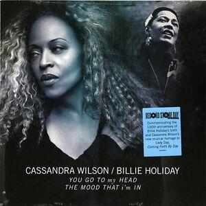 "CASSANDRA WILSON / BILLIE HOLIDAY YOU GO TO MY HEAD VINILE EP 10"" RSD 2015 NUOVO"