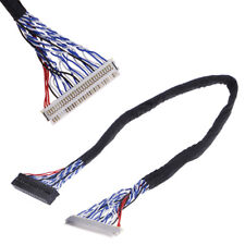 25cm 8 bit lvds cable fix-30 pin 2ch for 17-26inch lcd/led panel controller  X