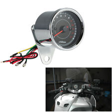 0~13,000RPM Shift Meter Motorcycle LED Backlight Tachometer Speedometer DC 12V